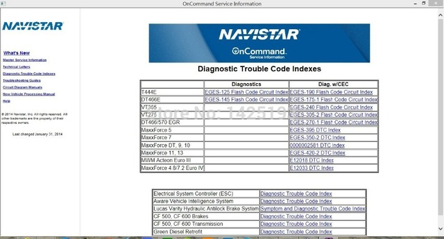 International Truck ISIS Navistar OnCommand Service Information 7 2014_640x640 international truck isis navistar oncommand service information 7