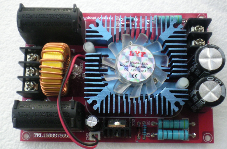 ZVS driver board, Tesla coil power supply high voltage generator driver board has tapped ZVS power supply стоимость