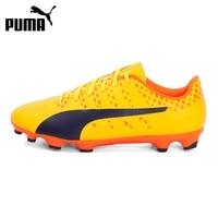 Original New Arrival 2017 PUMA EvoPOWER Vigor 4 AG Men S Football Soccer Shoes Sneakers