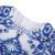 Robe Hiver Fille Menina Vestido Crianças Vestido de Manga Comprida 2016 Faiança Azul de outono O Pescoço Traje Da Princesa Vestidos para Crianças meninas