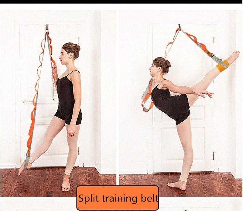 Nova porta ajustável perna superior yoga banda
