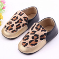 Sapatos de bebê meninas sapatos meninos clássico leopardo primeiros caminhantes sapatos da moda sapatos único meninas meninos da criança sapatos macios