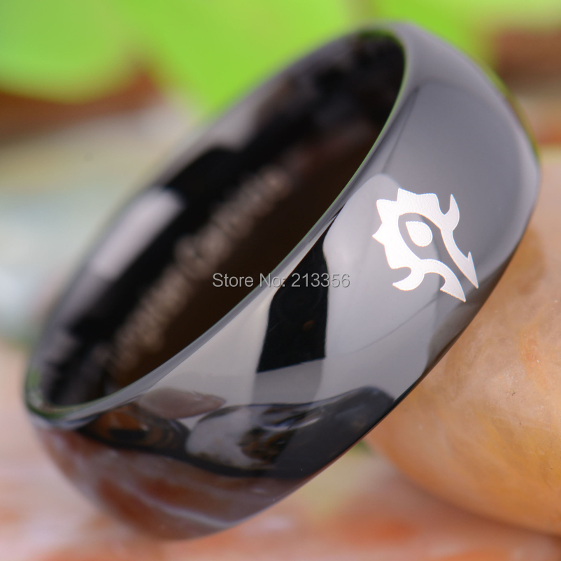 TUNGSTEN jóias de luxo 8 MM COMFORT
