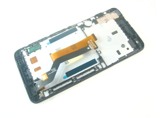 Замена Полный ЖК-Дисплей + Сенсорный Экран Digitizer + Рамка для HTC Desire 626 Черный