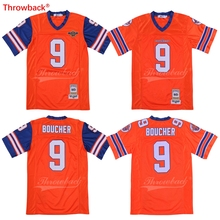 The Waterboy Mud Dogs Football Jersey Bobby Boucher Includes Bourbon Bowl Patch S-3XL New Stitch Sewn American Football Jersey