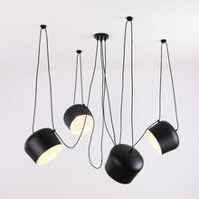 Benutzerdefinierte Moderne Spinne Industrielle Anhänger Lichter für Tauchen zimmer/Restaurants Küche Anhänger Lampen E27 Leuchten LED Hängen Lampe
