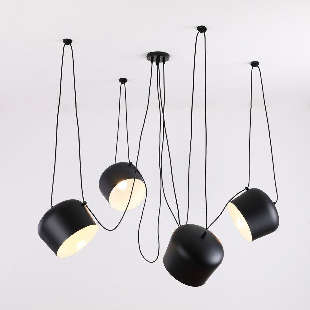 Personnalisé Moderne Spider Industrielle Lampes Suspendues pour salle De Plongée/Restaurants Cuisine Pendentif Lampes E27 Appareils LED Lampe Suspendue
