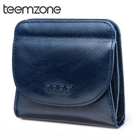 Teemzone Hot Fashion Women's Purse Thin Hasp Women's Wallet Lady Leather Wallets Female Purse Mini Card Case Womens Wallets Q428