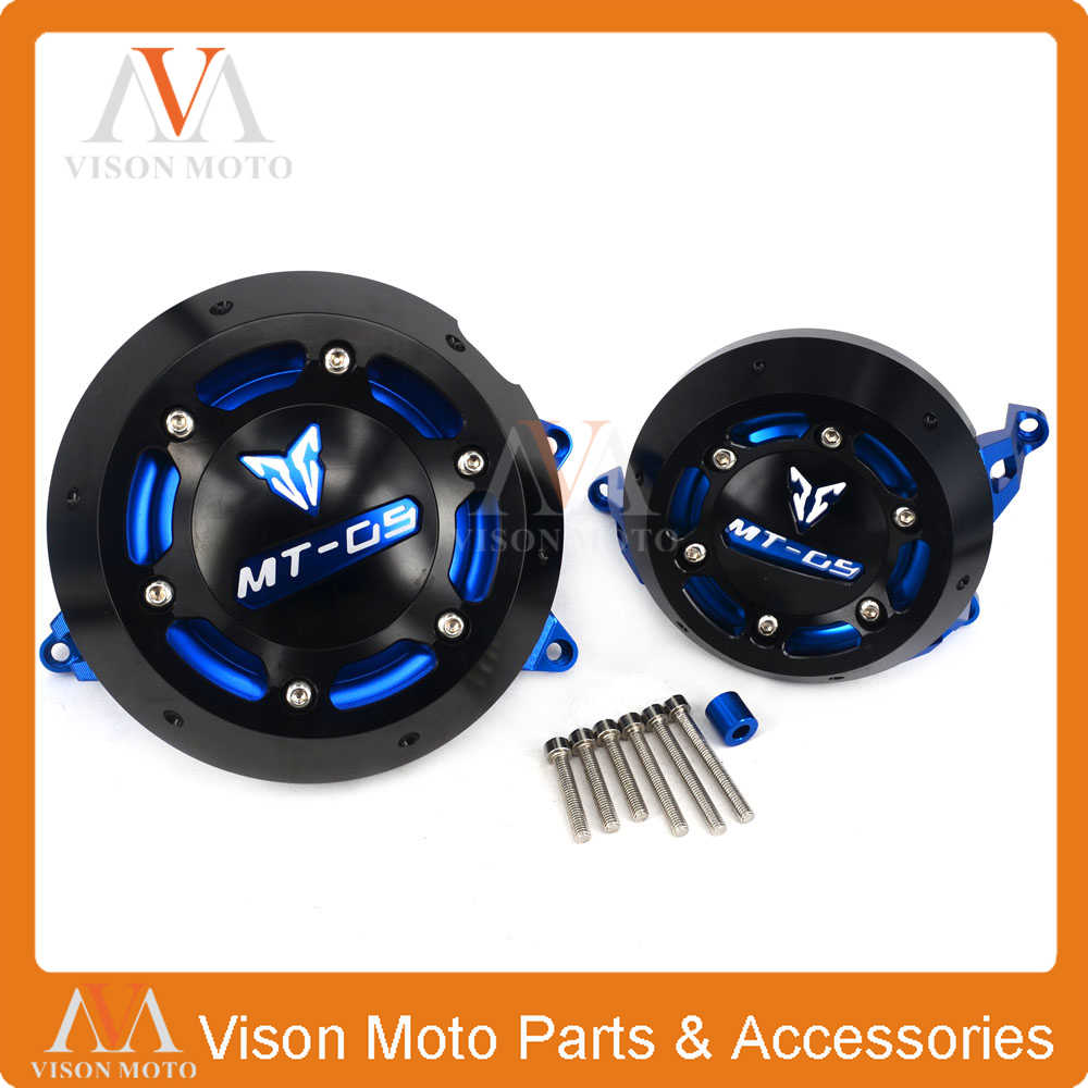Motorcycle Stator side Case Cover Engine Cover Protector For YAMAHA MT-09 MT09 MT FZ 09 FZ09 2014 2015 2016 14 15 16 7 color aluminum engine stator case cover protective side protector for mt09 fz09 mt 09 fz 09 fz mt 09 2014 2015 2016 14 15 16