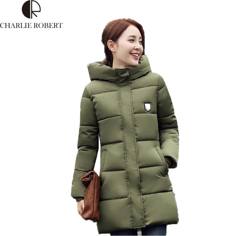 Casaco Feminino Kaput Artı Boyutu Kış Ceket Kadınlar Büyük Hoodies Kalın Aşağı Pamuk Ceket Kadın Parka Uzun Palto