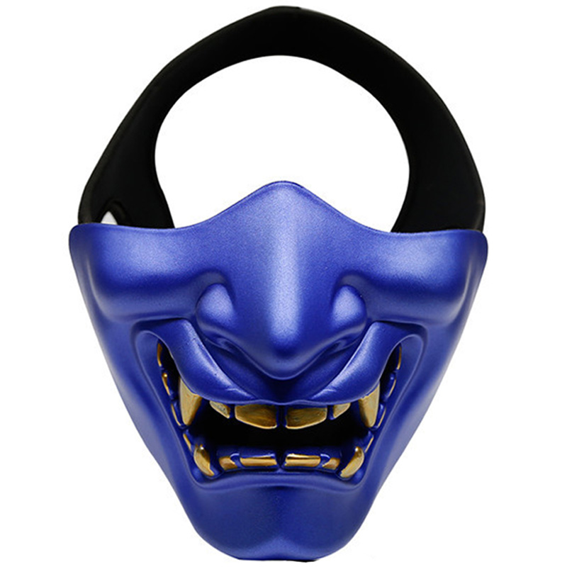 Tactical Airsoft Cool Half-Face Mask Paintball Halloween Attractive Masquerade Party Face