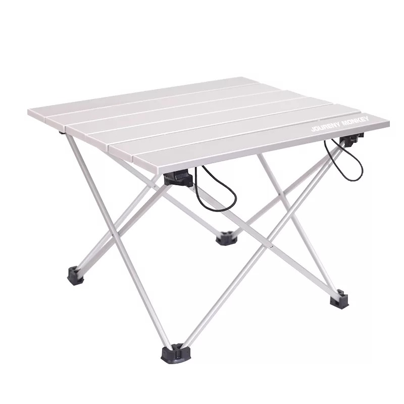 High quality silver alumina portable folding barbecue camping booth ultra light outdoor folding tableHigh quality silver alumina portable folding barbecue camping booth ultra light outdoor folding table
