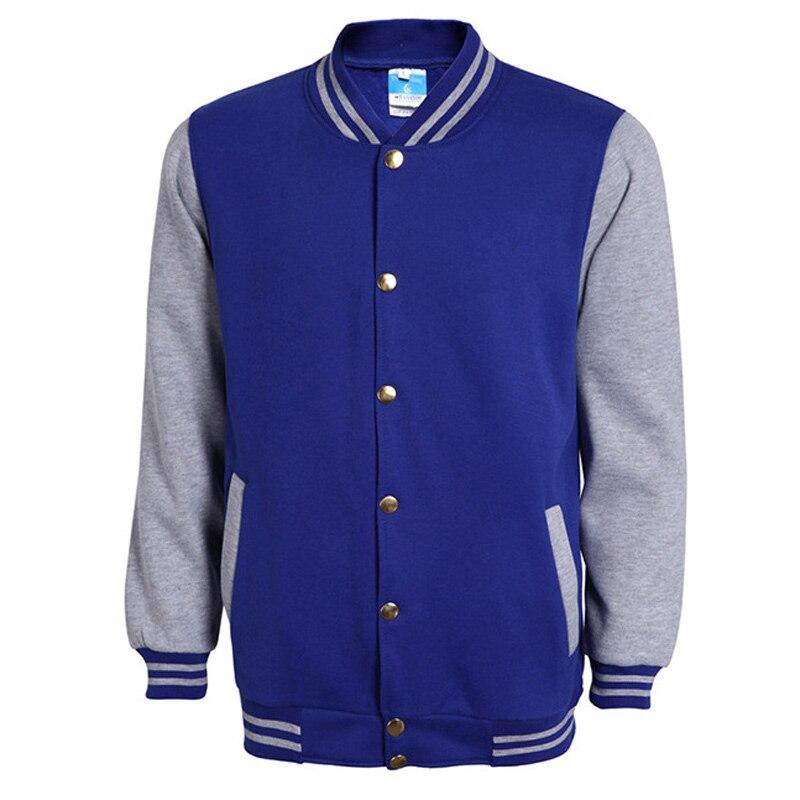 Baseball Jacket Blue IhRn04