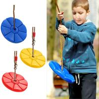 Safe Indoor Outdoor Plastic Disc Monkey Kids Swing Seat Toy Hanging Playground Fitness Game Fitness Swingset For Kids