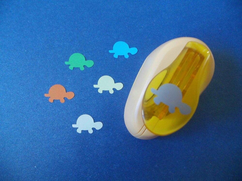 2-2.5 cm Tortue Forme EVA Mousse Poinçon Coupe-Papier Pour Carte De Voeux Trou Perforateur Perforadoras Par Scrapbooking Livraison gratuite
