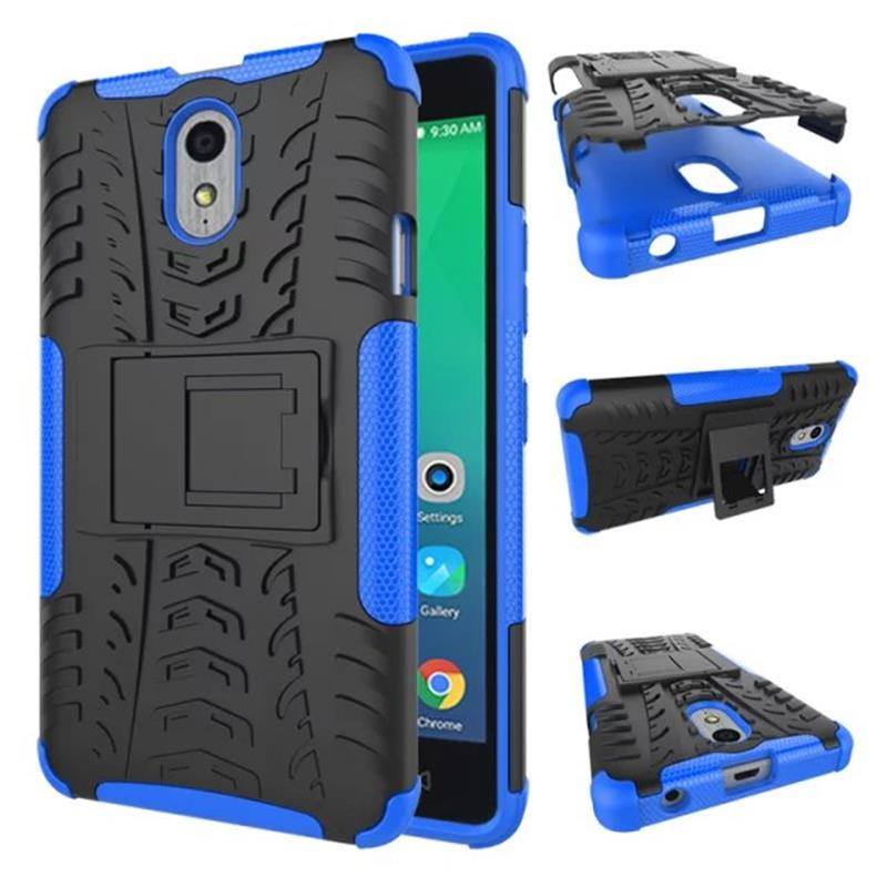 more photos 92e03 9b63a US $2.68 6% OFF|Heavy Duty Defender Armor Shockproof Case For Lenovo Vibe  P1m with Kick Stand Back Cover Case for P1ma40 P1mc50-in Fitted Cases from  ...