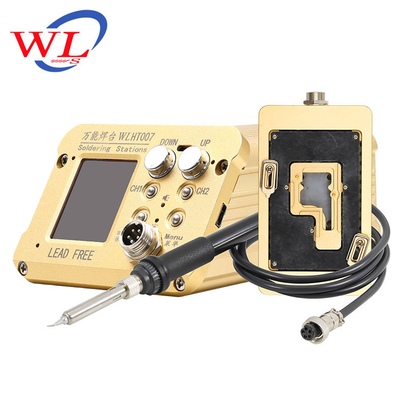 WL Mobile Phone Repair Universal Soldering Station Intelligent Tin Planting Mainboard Layered Heating Table for IPHONE X/XS/MAX