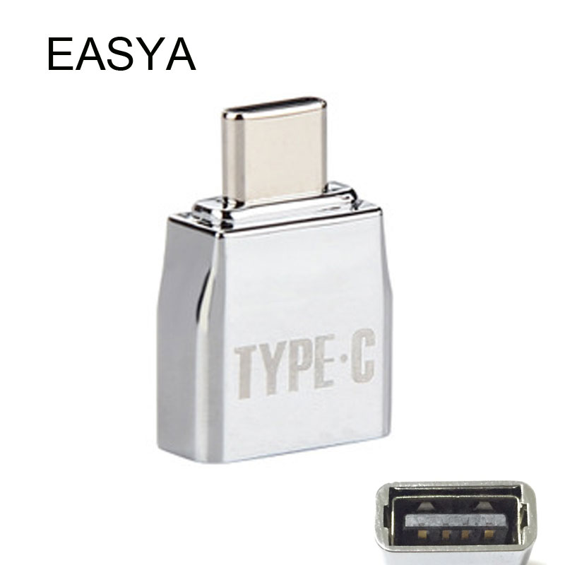 EASYA OTG USB 3.1 Type C Hub Adapter Male USB-C to Female USB 2.0/Micro USB for Macbook Pro Type-c interface Use 100pieces lot usb type c usb 3 1 usb c female to micro usb 2 0 male otg adapter connector usb on the go adaptor by dhl