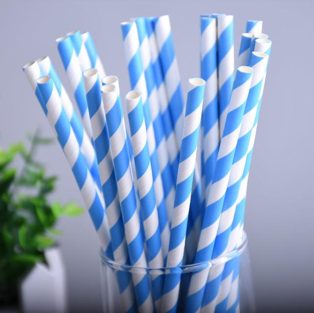 Set of 25 Drinking Straws