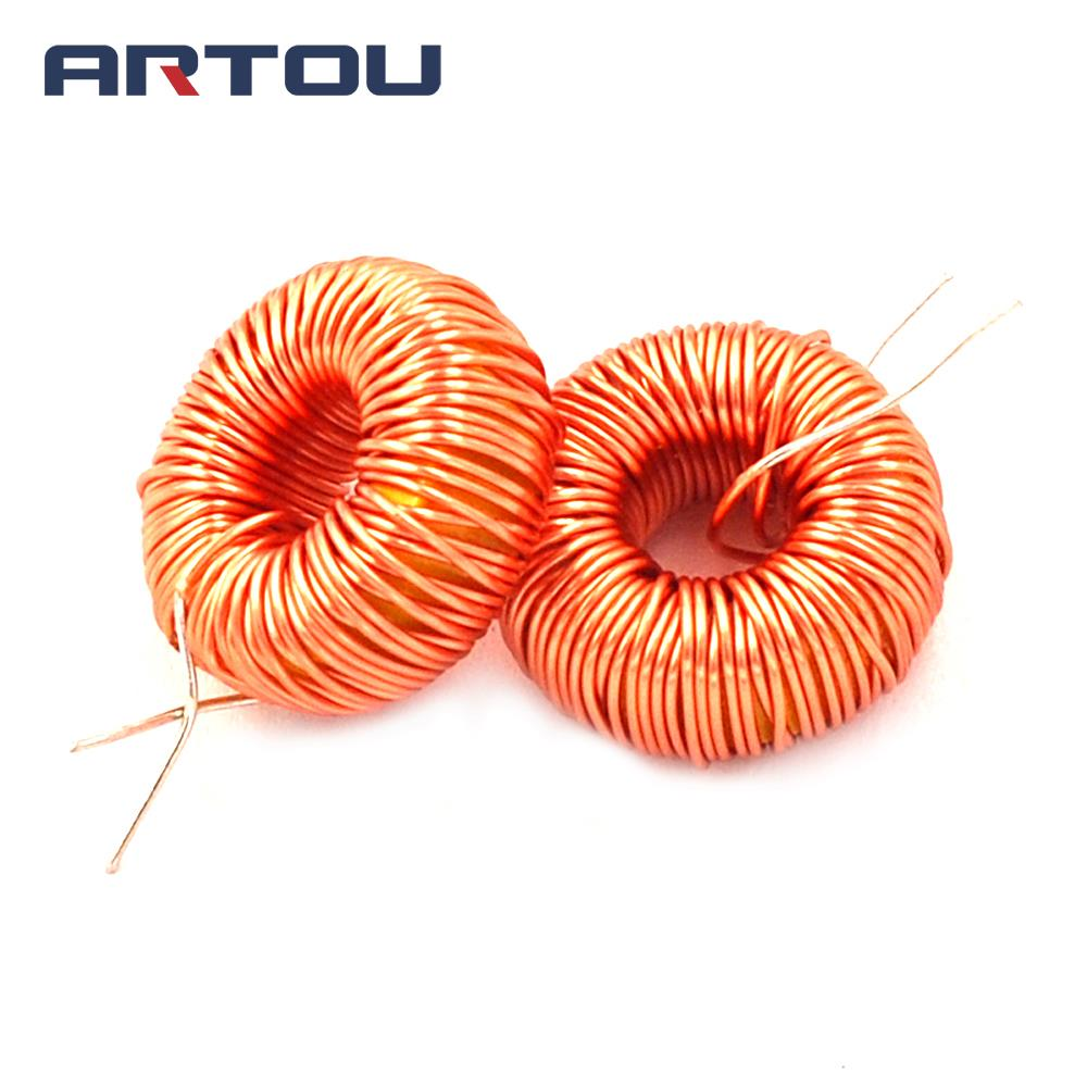10PCS 3A Ring Inductor Nude 22UH Winding Inductor Magnetic Ring Inductor LM2596 Dedicated