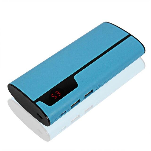 Power Bank 12000 мАч Bateria наружный Двойной Зарядки Порт С Двойной Выход USB Для всех Android Смартфонов