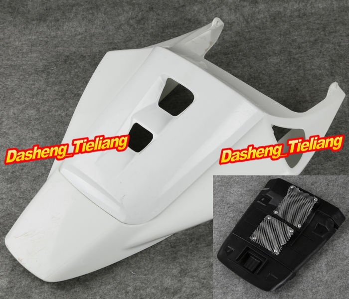 Unpainted Motorcycle Tail Rear + Seat Cowling Fairing Parts for Honda 2004 2005 2006 2007 CBR1000RR CBR 1000RR, ABS Plastic motorcycle fender eliminator led light tidy tail for honda cbr 600rr cbr600rr 2005 2006 cbr 1000rr cbr1000rr 2004 2005 2006 2007