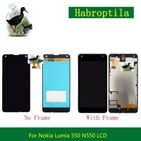 4 7 For Nokia Microsoft Lumia 550 N550 Full Lcd Display With Touch Screen Digitizer Sensor