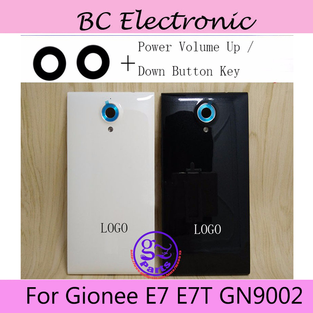 Back cover Battery Cover Case For Gionee Elife E7 GN9002 with power and volume buttons +camera lens free shipping