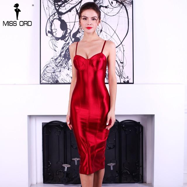 Missord 2017 сексуальный бюстгальтер без рукавов Холтер разделение платье FT4924-1