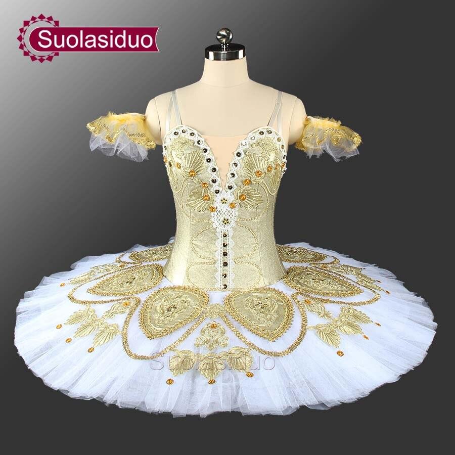 Adulte or professionnel Ballet Tutu le casse-noisette scène Performance Costumes enfants Ballet danse filles Ballet jupe