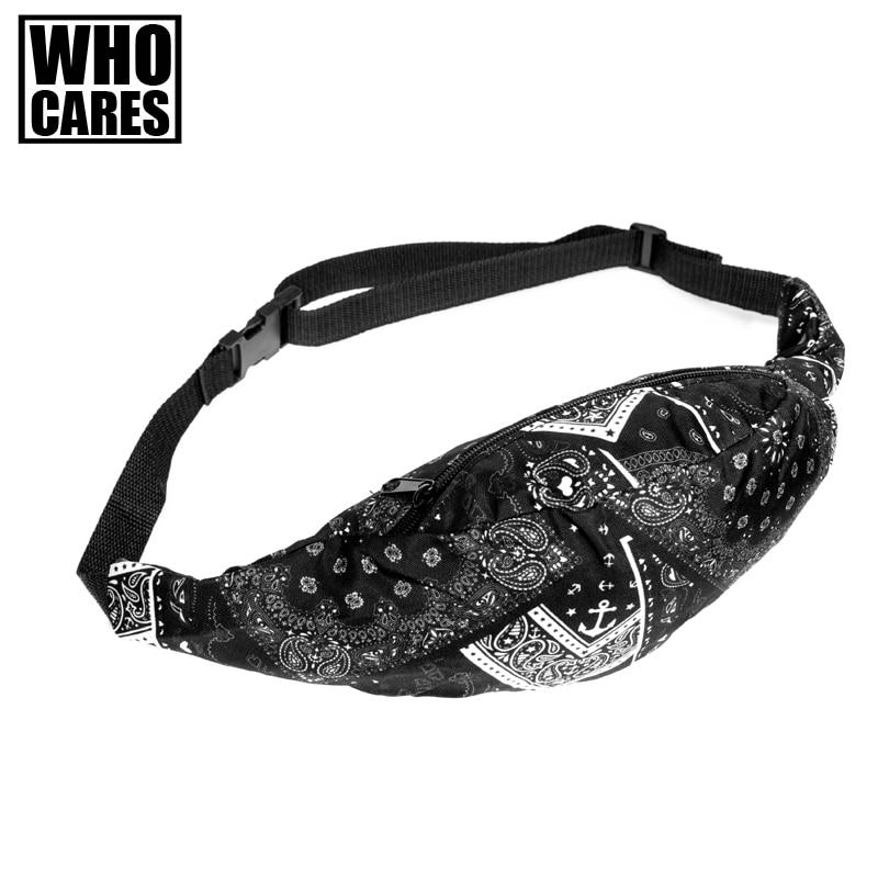 última tendência 3d impressão camoufla Waist Packs Estilo : Fashion Hip Waist Bag