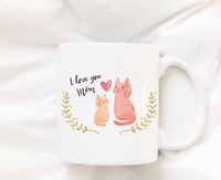 Mothers Day Cat Mom Mugs Beer Travel Cup Coffee Mug Tea Cups Home Decor Novelty Friend