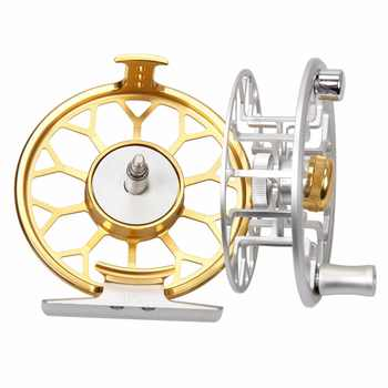 AnglerDream Archer Series 3/4 5/6 7/8WT CNC Machined Fly Reel Large Arbor Fly Fishing Reel With Spare Spool