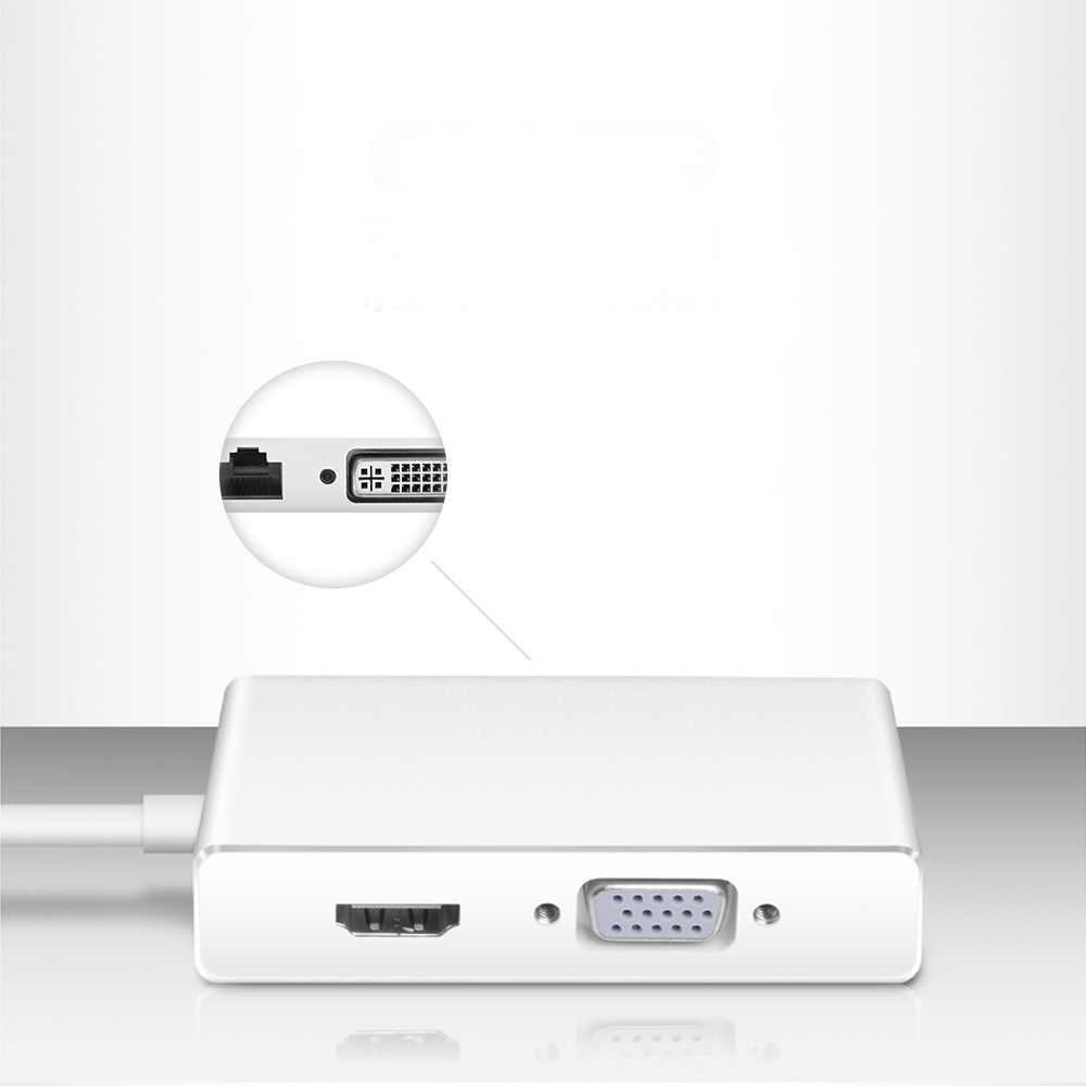 USB3.0 HUB USB a HDMI VGA DVI LAN USB estación de acoplamiento convertidor adaptador multiuso para ordenador portátil ratón teclado USB2.0 Hub