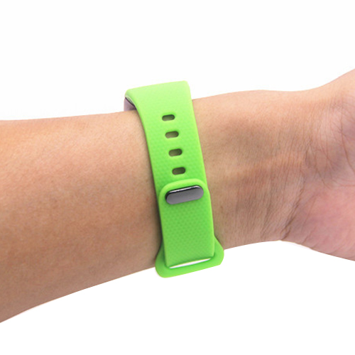 Replacement Luxury Silicone Watch Band Strap For Samsung Gear Fit 2 SM-R360Colour:Green luxury silicone watch replacement band strap for samsung gear fit 2 sm r360 wristband 100