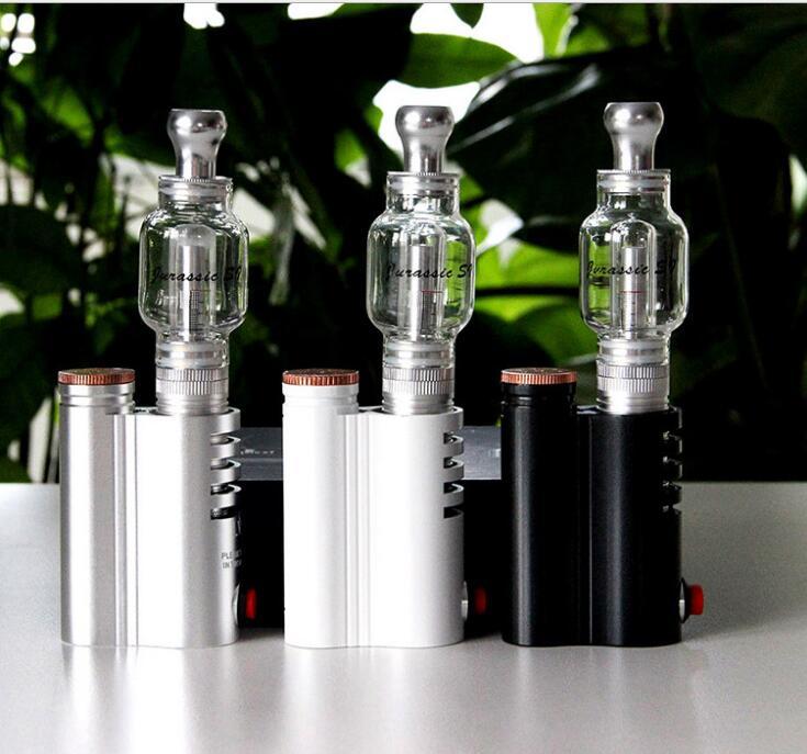 LVSMOKE JURASSIC S1 Dry Herb Vaporizer Electronic Cigarette Kit Herbal Vaporizer Dry Wax Vape E Cigarette Hookah Vapor цены