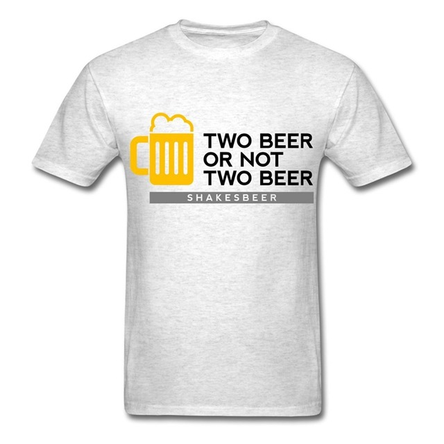 Military T Shirts Men S O Neck Two Beer Shakesbeer Short Sleeve Best Friend