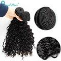 Brasileiro do cabelo virgem profunda onda encaracolado humano tece cabelo 4 ofertas bundle não transformados cabelo produtos peerless cupom transporte rápido