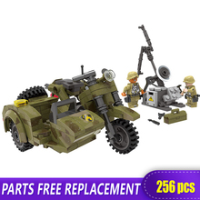 XINGBAO 06008 Genuine 256Pcs Military Series The Leaning Motorcycle Set Building Blocks Bricks Funny Toys As Christmas Boy Gifts цена