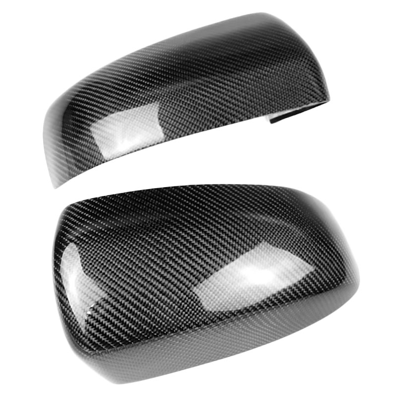 2Pcs Carbon Fiber Rear Door Side Wing Mirror Black Covers Cover Caps For Bmw X5 X6 E70 E71 Exterior Parts Replacement2Pcs Carbon Fiber Rear Door Side Wing Mirror Black Covers Cover Caps For Bmw X5 X6 E70 E71 Exterior Parts Replacement