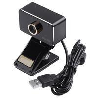 360 Gradi Ruotato web cam 720 P Ad Alta Definizione 1MP PC USB Webcam Macchina Fotografica Del Computer Microfono Incorporato con Treppiede