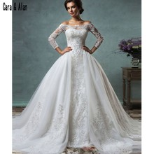Cara&Alan Wedding Dresses With Long Sleeves