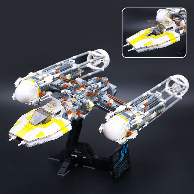 Online Shop Fit With Lego 1473pcs UCS Y-Wing Attack Starfighter ...