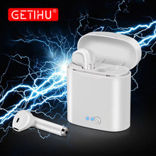 Bluetooth Earphones Headphones For iPhone XS Max X Phone Mini Twins Earbuds Wire