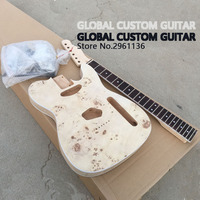 2017 High quality Unfinished TL electric guitar The rotten tree scar DIY guitar,Real photos,free shipping
