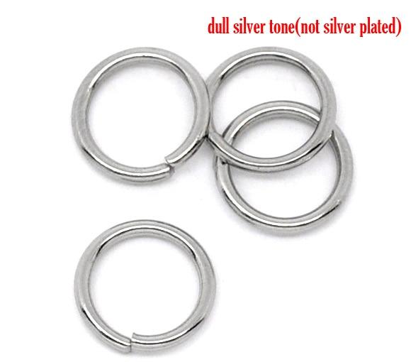 Mm Stainless Steel Jump Rings