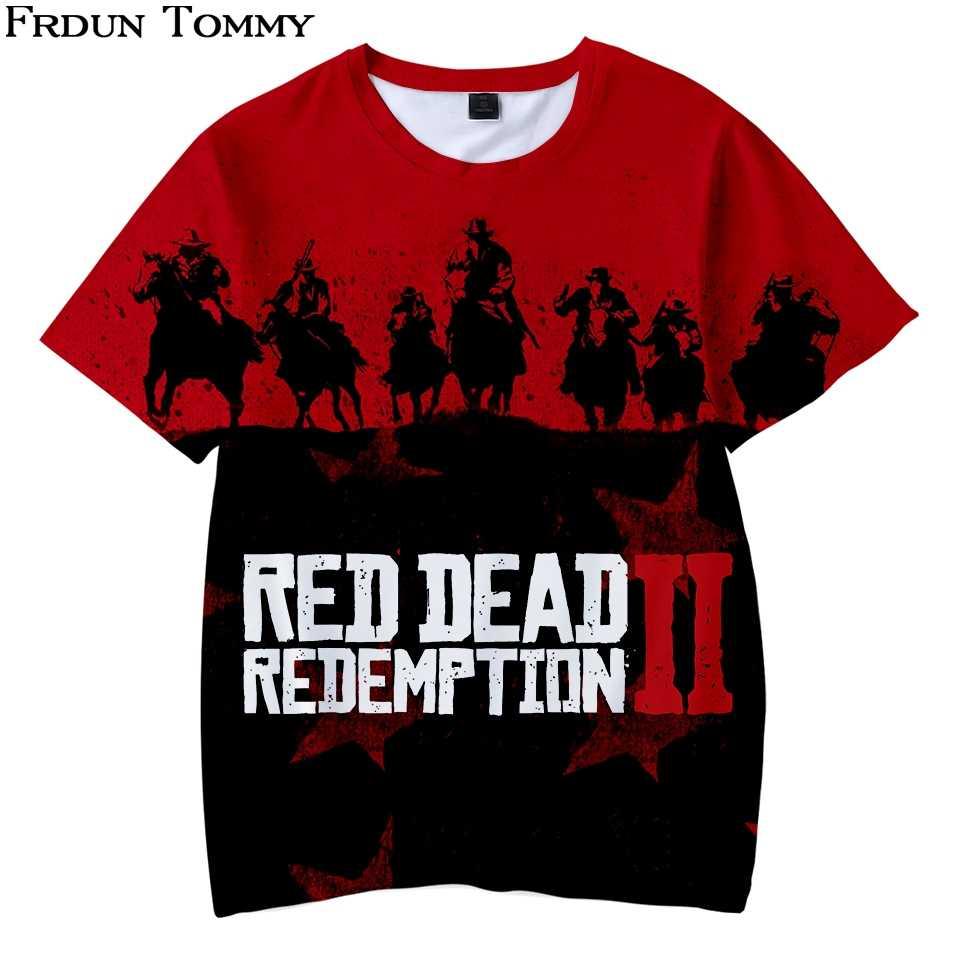 Detalle Comentarios Preguntas sobre Frdun Tommy 3D Red Dead Redemption 2  niños camiseta Kpop cuello Kpop Casual Hop moda 2018 nuevo estilo verano  camiseta ... 42f144aa85bbf