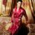 O Envio gratuito de Vestes Homens Imitação de Seda Roupões de Banho Sleepwear Com Decote Em V de Impressão Completo Manga Camisolas Moda Masculina Promoção Robe 1399
