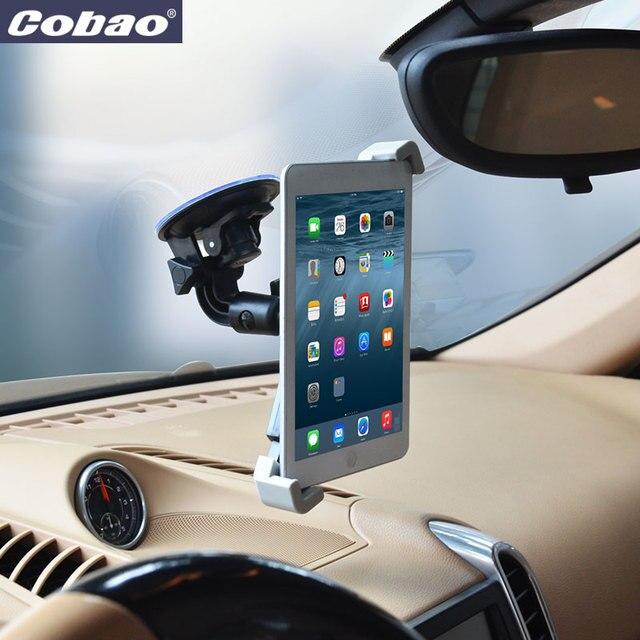 Universal 7 8 9 10 11 pulgadas tablet soporte para el parabrisas del coche fuerte soporte de tabletas de succión conveniente para ipad air 2 y mini 2 3 4