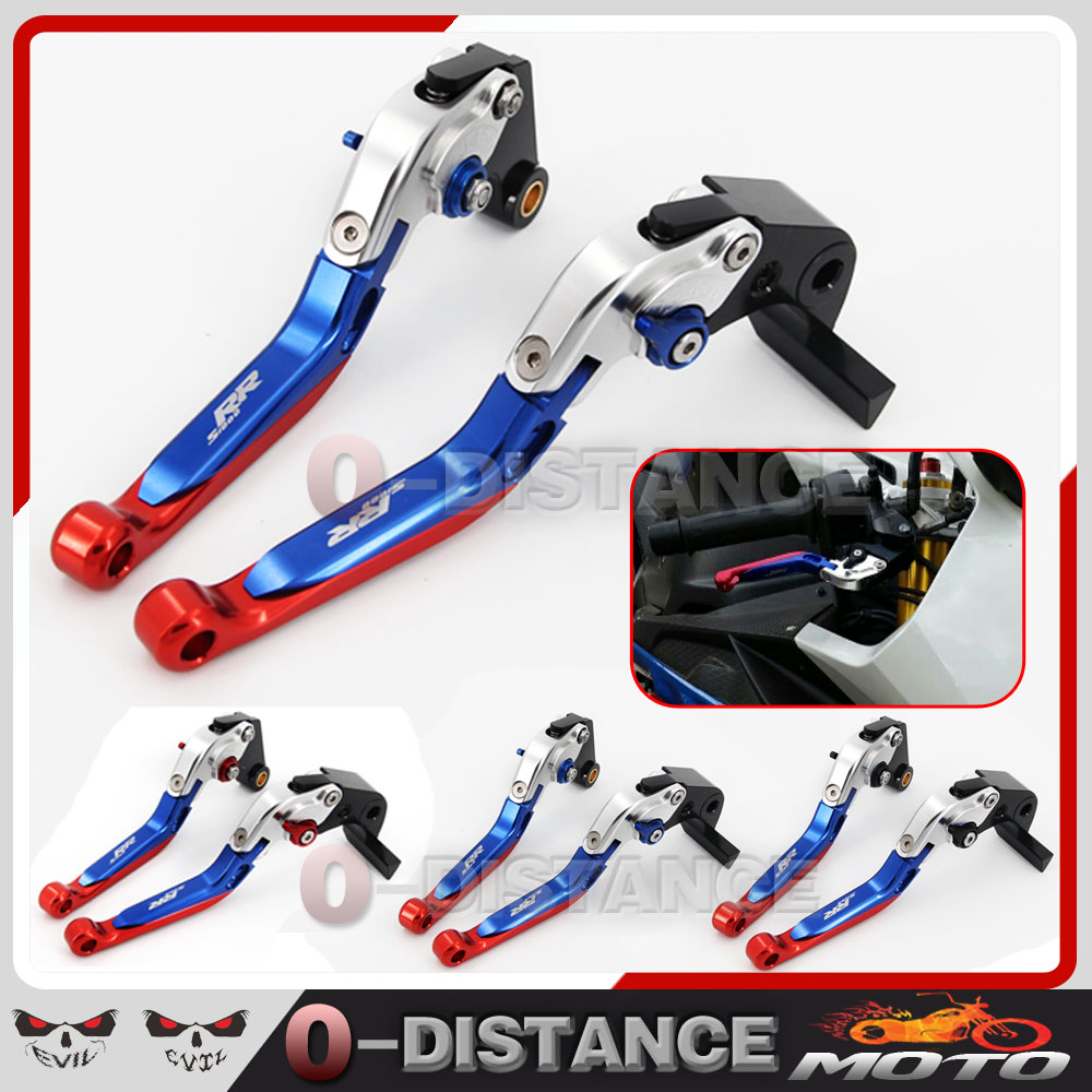 Hot sales Motorcycle Accessories CNC Adjustable Folding Extendable Brake Clutch Levers For BMW S1000RR 2010-2016 2015 2014 billet alu folding adjustable brake clutch levers for motoguzzi griso 850 breva 1100 norge 1200 06 2013 07 08 1200 sport stelvio